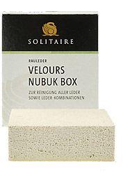 Solitaire Schuhpflege Verlours Nubuk Box