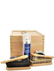 Solitaire Schuhpflege Schuhputz-Kiste Buche